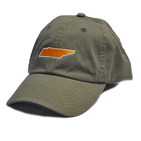 Tennessee Knoxville Gameday Hat Grey