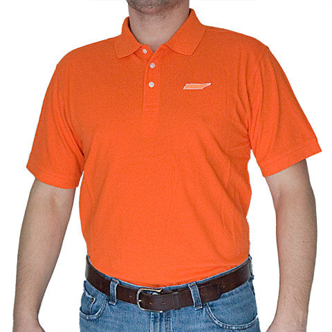 Tennessee Knoxville Gameday Polo Orange