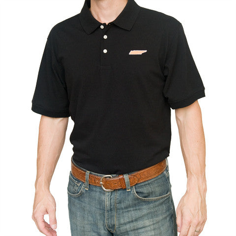 Tennessee Knoxville Gameday Polo Black