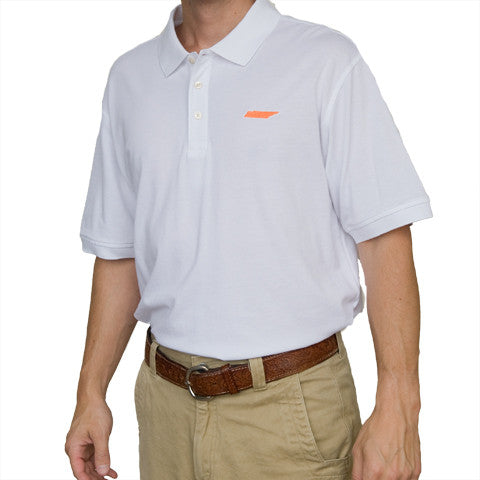 Tennessee Knoxville Gameday Polo White