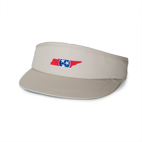 Tennessee Traditional Golf Visor Khaki