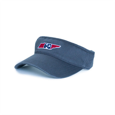 Tennessee Traditional Hat Visor Charcoal