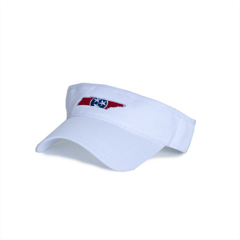 Tennessee Traditional Hat Visor White