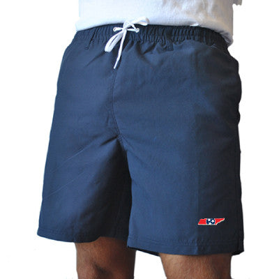 State Traditions Tennessee Traditional Navy Swim Trunks Front View
