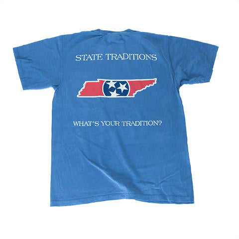 Tennessee Traditional T-Shirt Blue