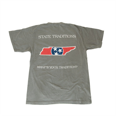 Tennessee Traditional T-Shirt Grey