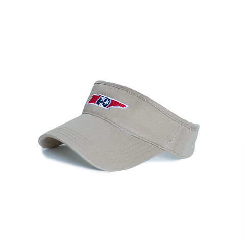 Tennessee Traditional Hat Visor Khaki