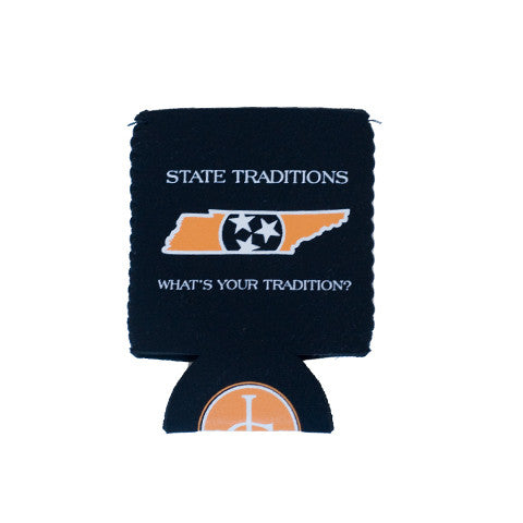 Tennessee Knoxville Traditional Koozie Black