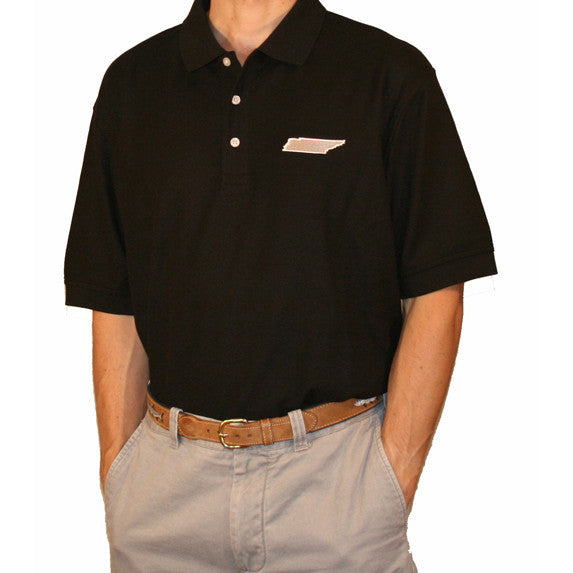 Tennessee Nashville Gameday Polo Black