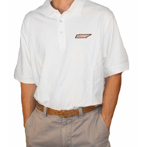 Tennessee Nashville Gameday Polo White