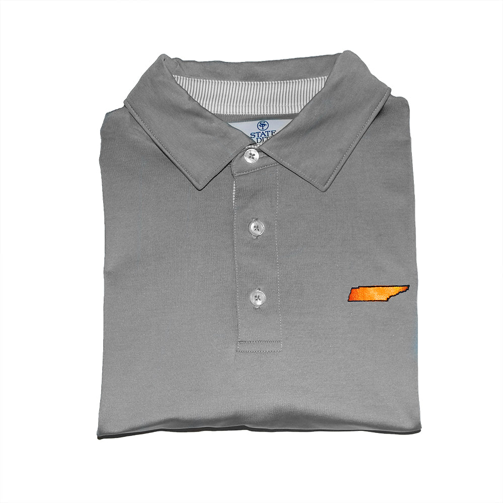 Tennessee Knoxville Gameday Signature Polo Grey