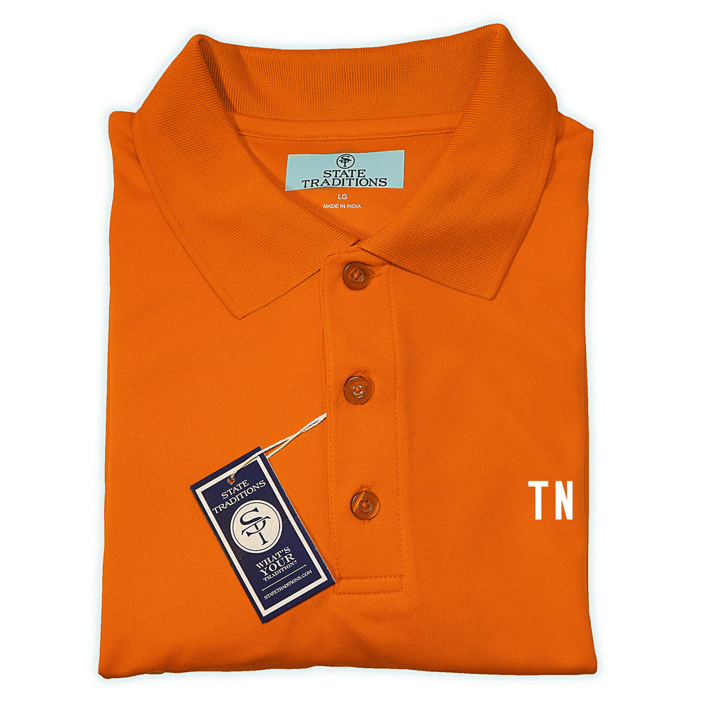 "Tennessee ""TN"" Gameday polo orangee"