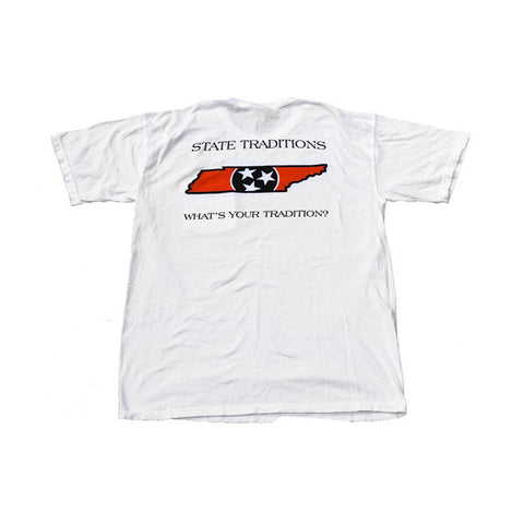 Tennessee Knoxville Traditional T-Shirt White