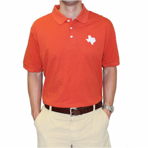 Texas Austin Gameday Polo Burnt Orange