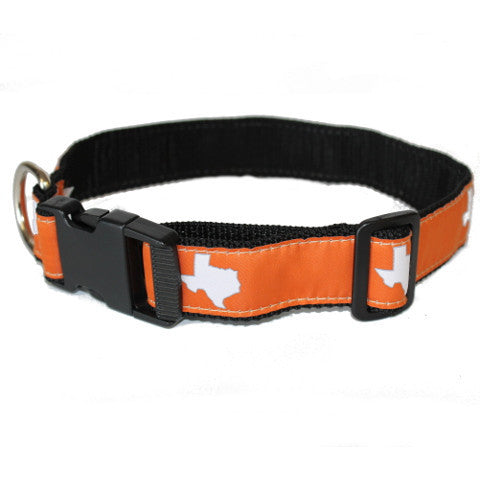 Texas Austin Gameday Dog Collar