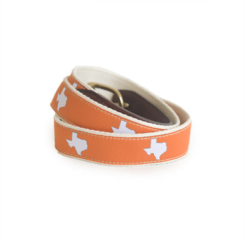 Texas Austin Gameday Belt Orange
