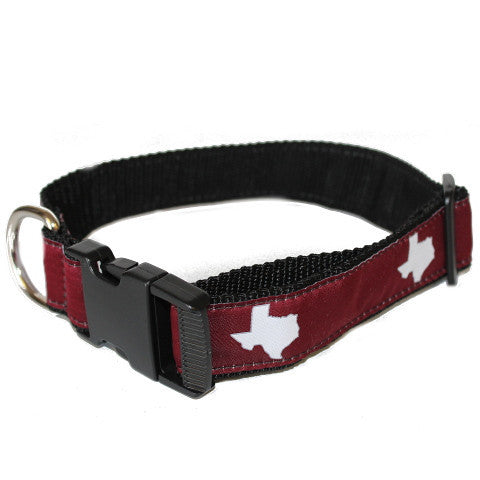 Texas College Station Gameday Dog Collar