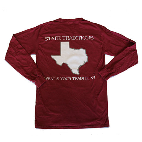 Texas College Station Gameday Long Sleeve T-Shirt