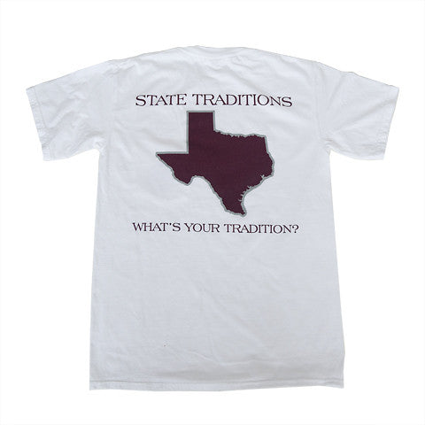 Texas College Station Gameday T-Shirt White
