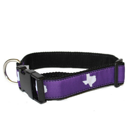 Texas Fort Worth Gameday Dog Collar