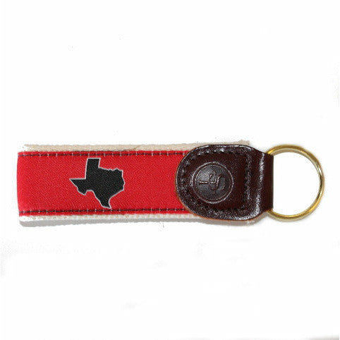Texas Lubbock Gameday Key Fob
