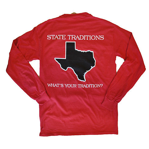 Texas Lubbock Gameday Long Sleeve T-Shirt