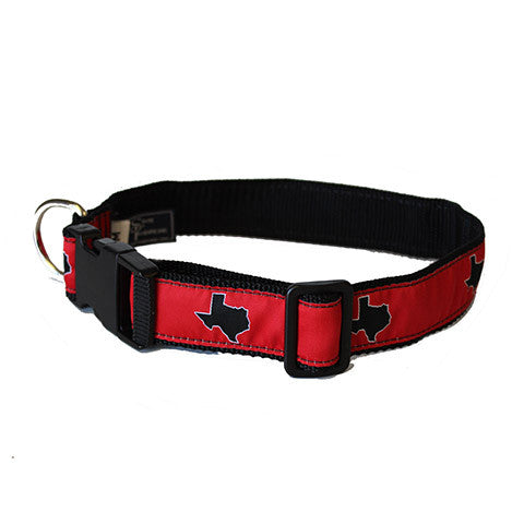 Texas Lubbock Gameday Dog Collar