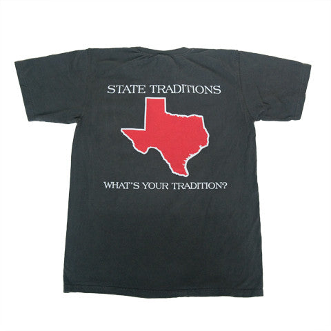 Texas Lubbock Gameday T-Shirt Black