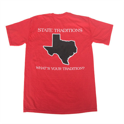 Texas Lubbock Gameday T-Shirt Red