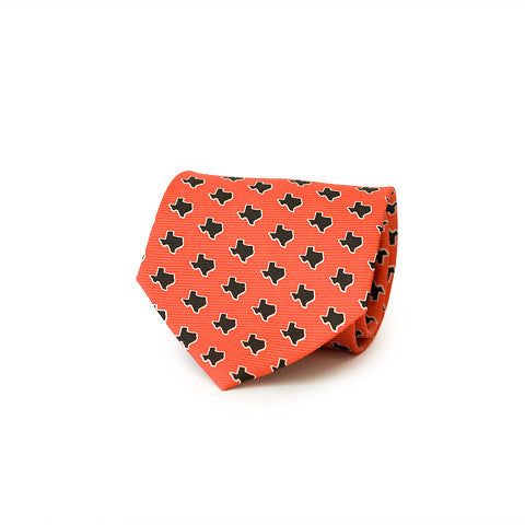 Texas Lubbock Gameday Tie