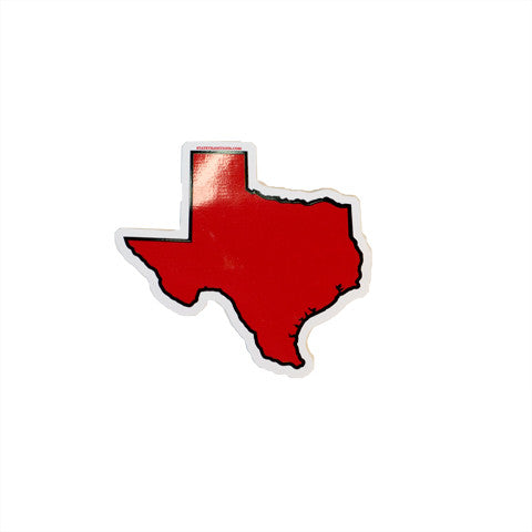 Texas Lubbock Gameday Sticker