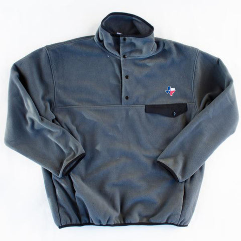 Texas Traditional Pullover Grey and Black