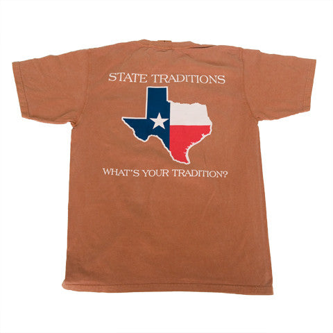 Texas Traditional T-Shirt Burnt Orange
