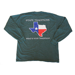 Texas Traditional Long Sleeve T-Shirt Willow