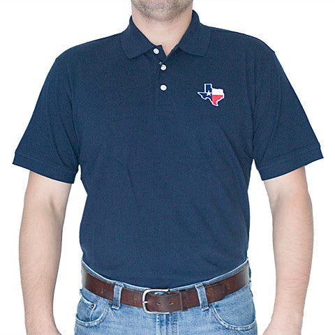Texas Traditional Polo Navy