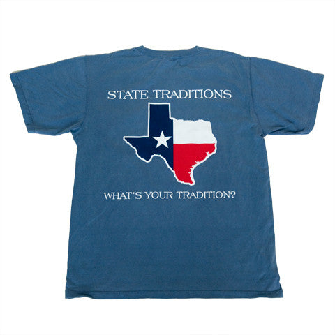 Texas Traditional T-Shirt Blue
