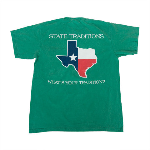 Texas Traditional T-Shirt Green