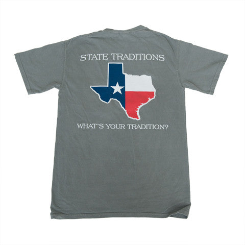 Texas Traditional T-Shirt Grey