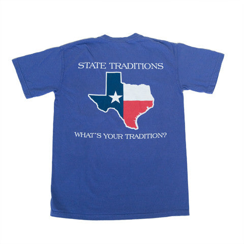 Texas Traditional T-Shirt Purple