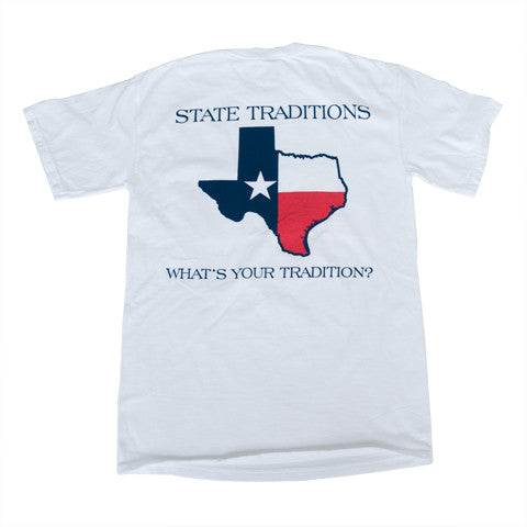 Texas Traditional T-Shirt White