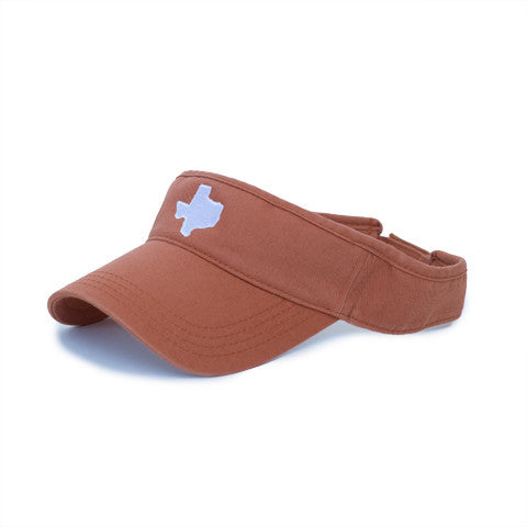 Texas Austin Gameday Hat Visor Burnt Orange