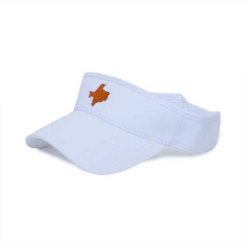 Texas Austin Gameday Hat Visor White