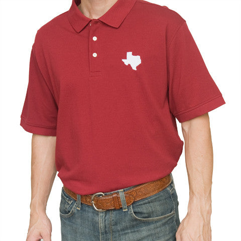 Texas College Station Gameday Polo Maroon
