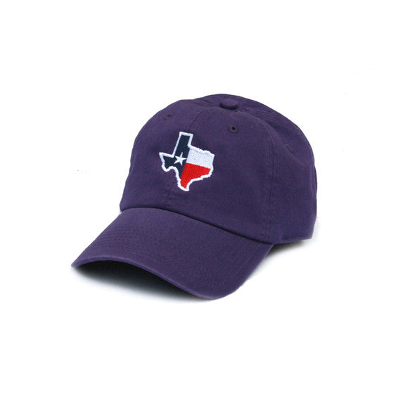 Texas Traditional Hat Purple