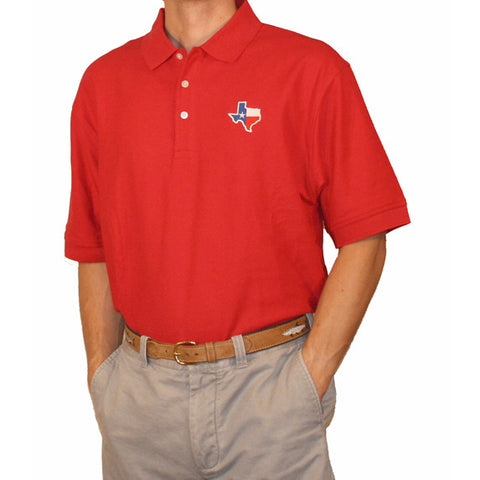 Texas Traditional Polo Red