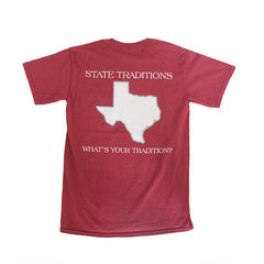 Texas College Station Gameday T-Shirt Maroon