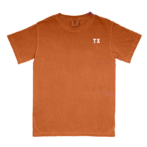 "Texas ""TX"" State Letters T-Shirt"