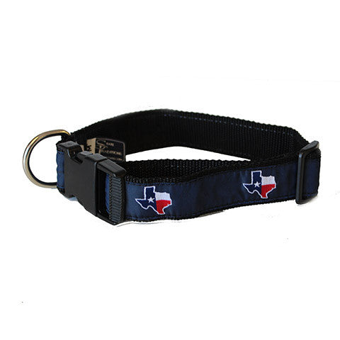 Texas Traditional Dog Collar