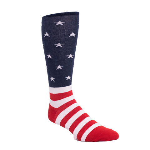 State Traditions American Flag premium socks by JL The Brand