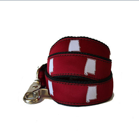 Alabama Tuscaloosa Gameday Dog Leash/Lead